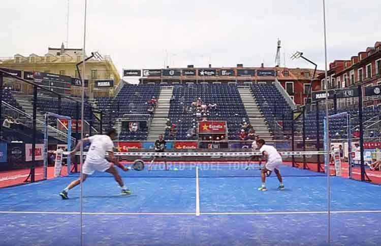 Fernando Poggi-Chiqui Cepero, en acción en el Valladolid Open