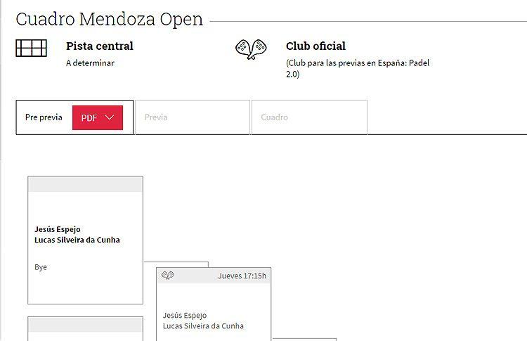Grandes duelos y mucha emoción para abrir la Previa Española del Mendoza Open