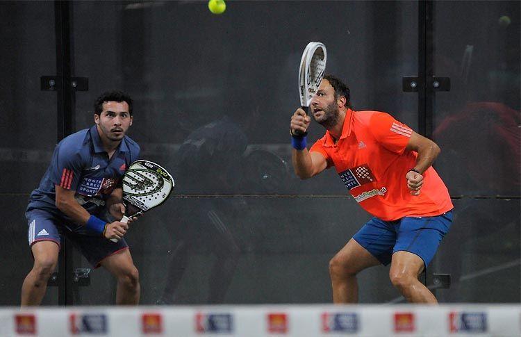 Javier Valdés-Carlos Zarhi, en acción en el Sevilla Open