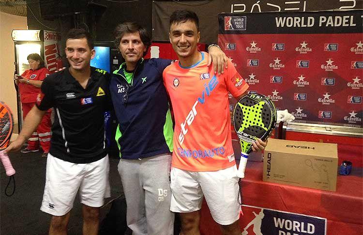 Ale Galán-Juan Cruz Belluati superan la Previa Española del Mendoza Open