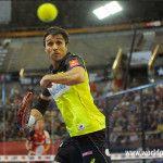 Fernando Belasteguín, en acción en el A Coruña Open