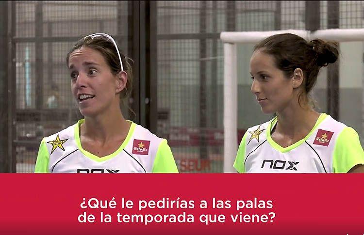 ¿Qué le pedirían Lucía Sainz y Gemma Triay a sus próximas palas de NOX?