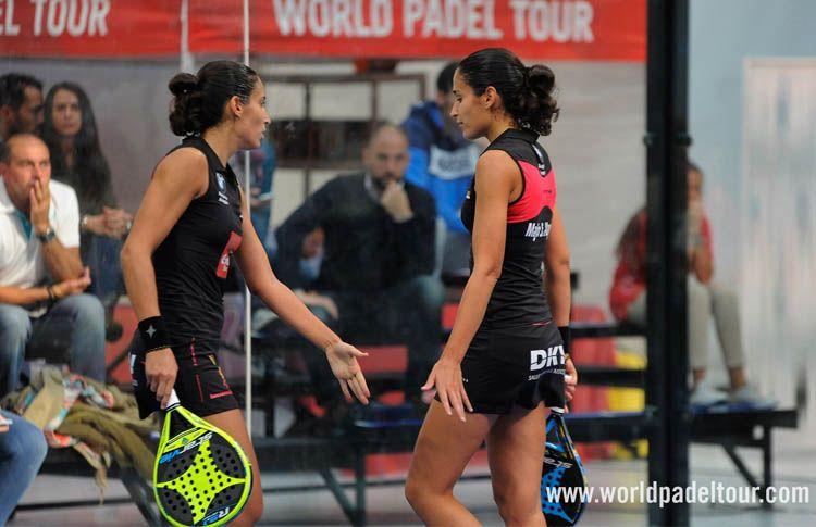 Mapi y Majo Sánchez Alayeto, en acción en el A Coruña Open