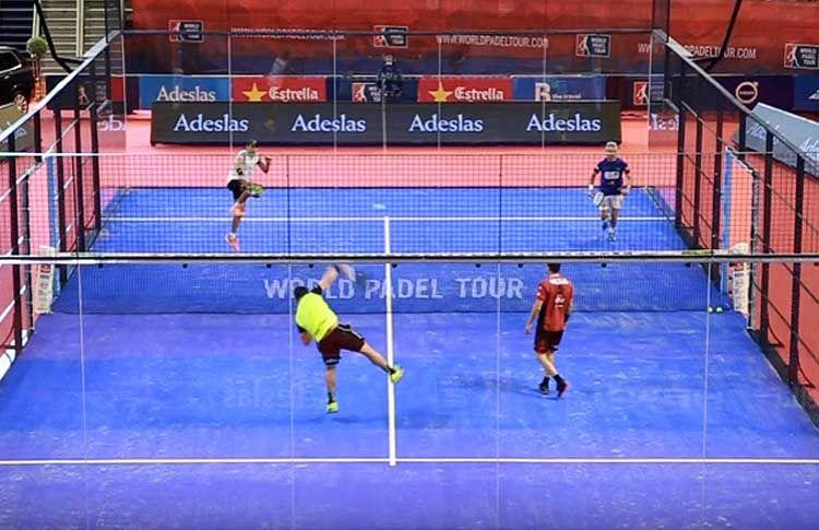 Tito Allemandi y Agustín Gómez Silingo, en acción en el A Coruña Open