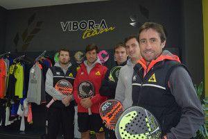 El Team Vibor-A. en la presentación de la Colección 2017