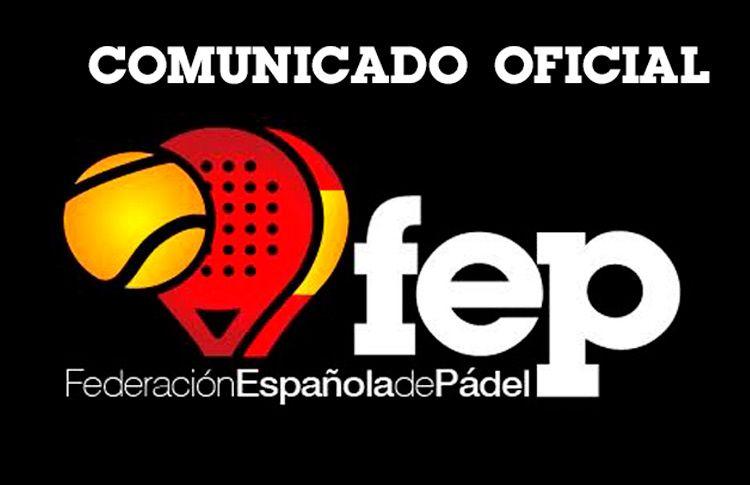 La FEP emite un Comunicado Oficial para explicar la descalificación de Mapi y Majo Sánchez Alayeto