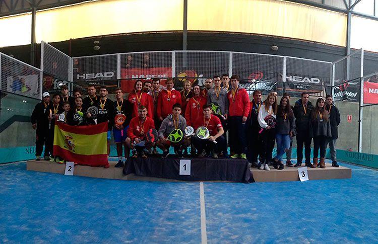 Emoción y mucha igualdad en el desenlace del Cpto de España por Equipos Junior e Infantil