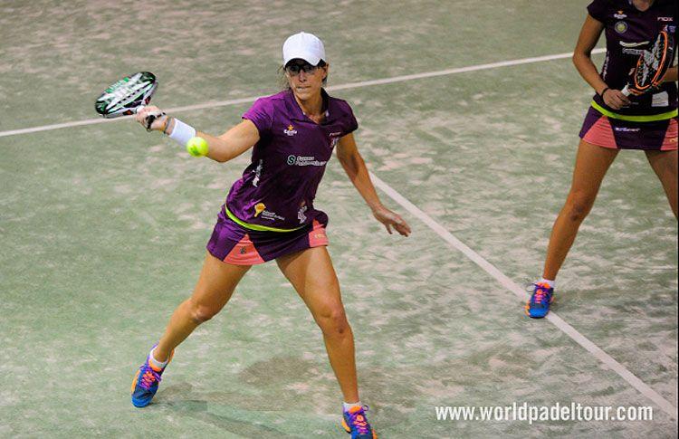Lucía Sainz-Gemma Triay, en acción en el Keler Euskadi Open