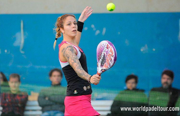 Alba Galán, en acción en el Keler Euskadi Open