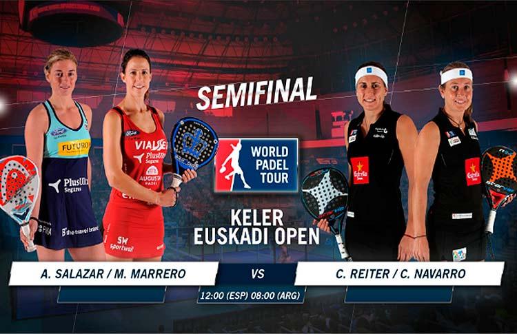 Keler Euskadi Open: Orden de Juego de semifinales