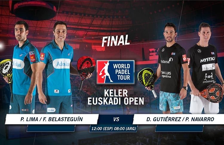 Keler Euskadi Open: Orden de Juego de la jornada final