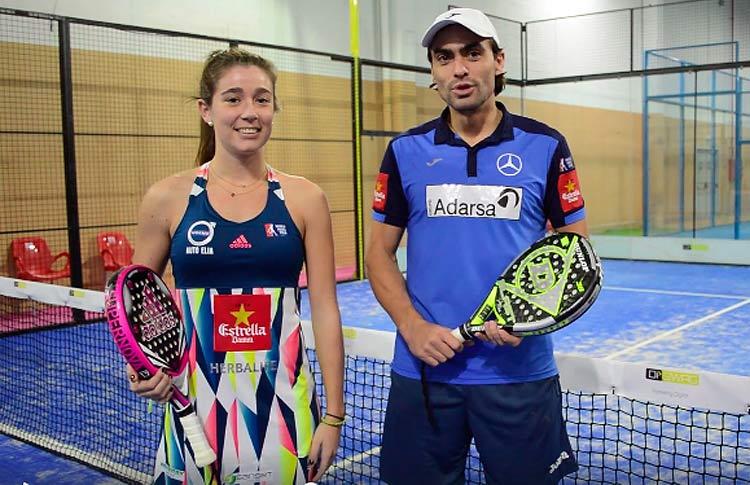 Juani Mieres y Marta Ortega, pareja en el Circuito Mixto de World Pádel Tour