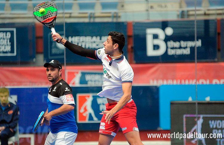 Jordi Muñoz y Pablo Lijó, en acción en el Keler Euskadi Open