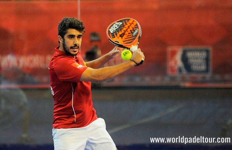 Martín Sánchez Piñeiro, en acción en el A Coruña Open