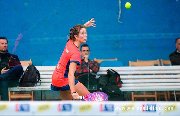 Marta Ortega, en acción en el Keler Euskadi Open