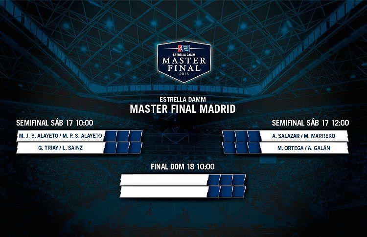 Semifinales Femeninas del Estrella Damm Másters Finals