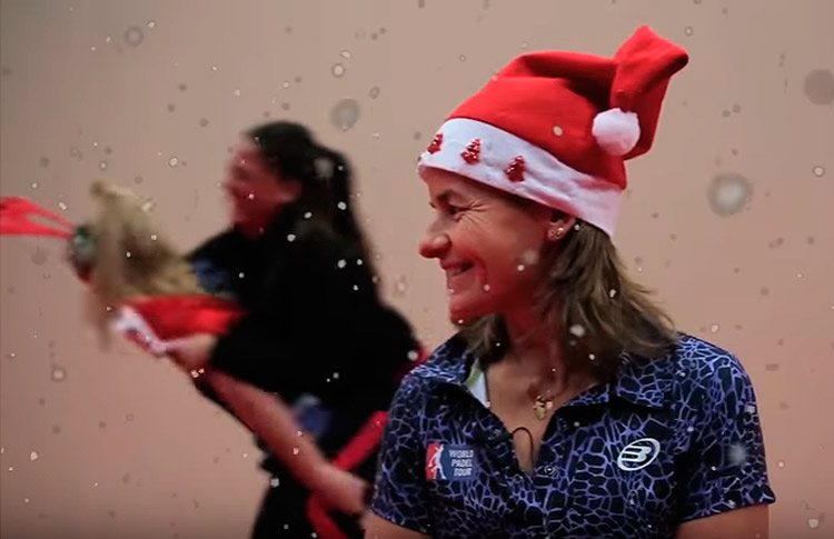 Vídeo: Una Navidad muy divertida junto a World Pádel Tour