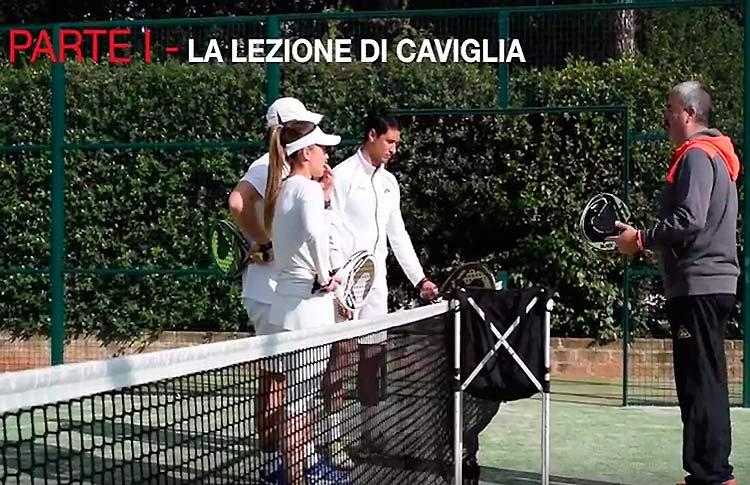 Adrián Caviglia volvió a hacer disfrutar a los aficionados italianos con sus lecciones