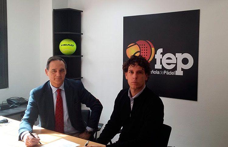 HEAD seguirá siendo la 'Pelota Oficial' de la Federación Española de Pádel