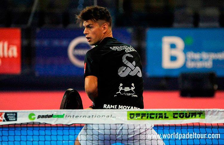 Ramiro Moyano, en acción en el Gran Canaria Open 2016