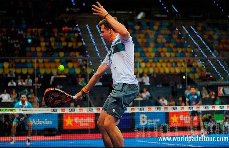 Paquito Navarro, en acción en el Gran Canaria Open 2016