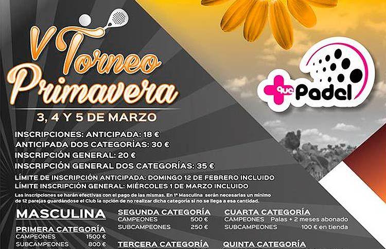 Más Que Pádel Albacete vuelve a adelantar la llegada de la primavera