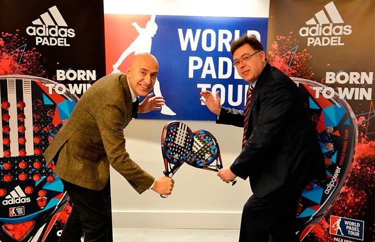 Adidas, Pala Oficial de World Pádel Tour por las dos próximas temporadas