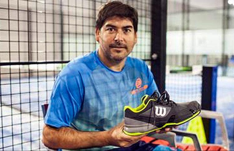 Cristian Gutiérrez confirma que jugará en 2017con las zapatillas Wilson Rush Pro 2.5