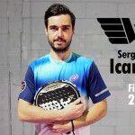 Sergio Icardo, con 'alas para volar' junto a WingPádel