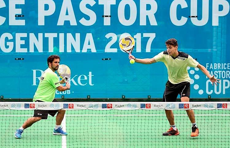 Soliverez-Tapia, la gran revelación de la prueba argentina de la Fabrice Pastor Cup