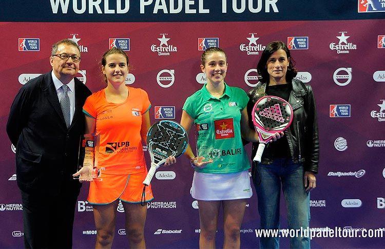 Marta Ortega y Ari Sánchez, ganadoras del Santander Open 2017