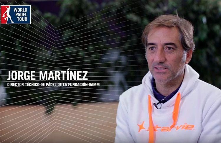 World Pádel Tour habla con Jorge Martínez