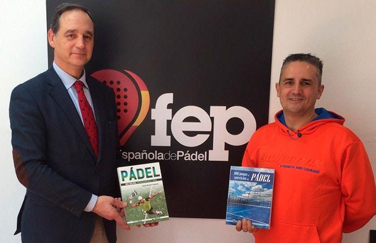 Juanjo Moyano Vázquez, entrenador y monitor, publica su segundo libro: 'Pádel: sus golpes, entrenamiento y más'
