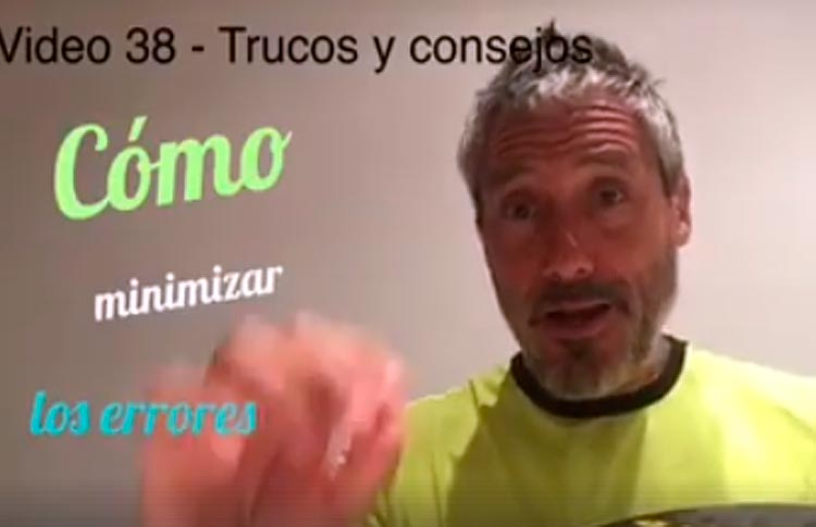 Consejos de Miguel Sciorilli (XVIII)... Cómo minimizar los errores