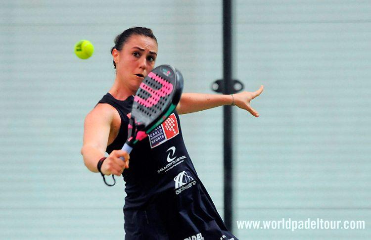 Laura Clergue, en acción en el A Coruña Open 2017