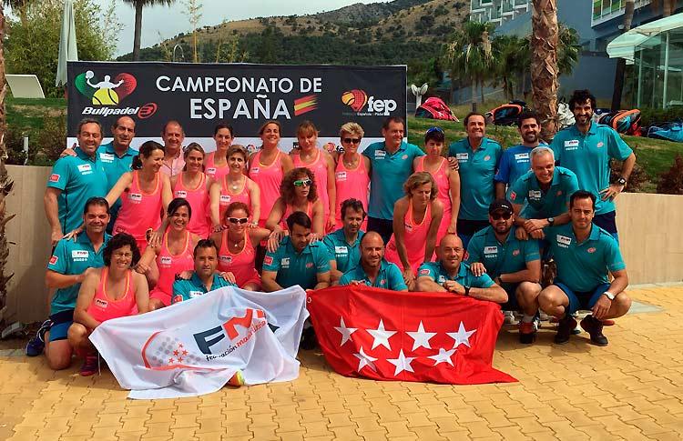 Doblete de Madrid en el Campeonato de España de Selecciones Autonómicas de Veteranos