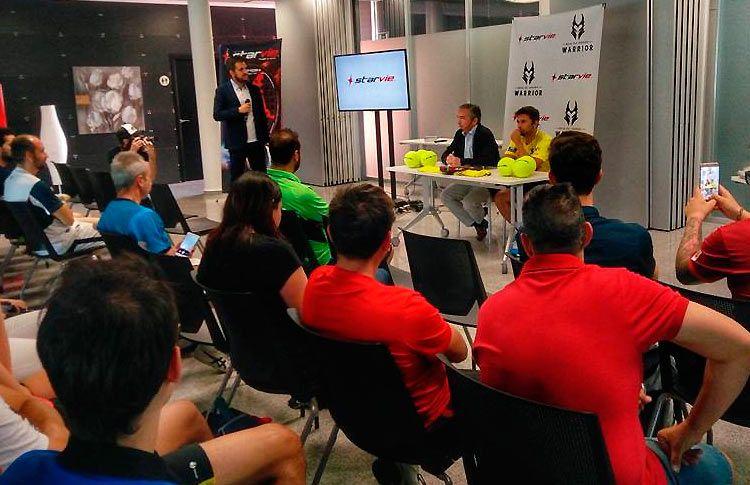 Matías Díaz renueva su contrato con StarVie hasta 2019