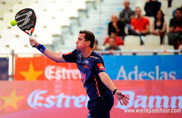 Paquito Navarro, en acción en el A Coruña Open 2017