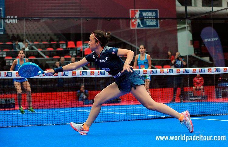 Patty Llaguno, en acción en el A Coruña Open 2017