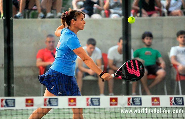 Cata Tenorio, en acción en el Valladolid Open 2017