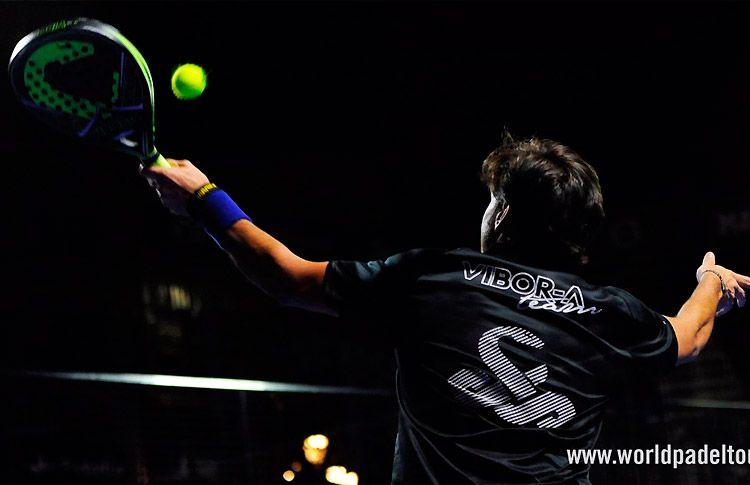 Nacho Gadea, en acción en el Valladolid Open 2017