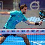 Lucho Capra, en acción en el Valladolid Open 2017