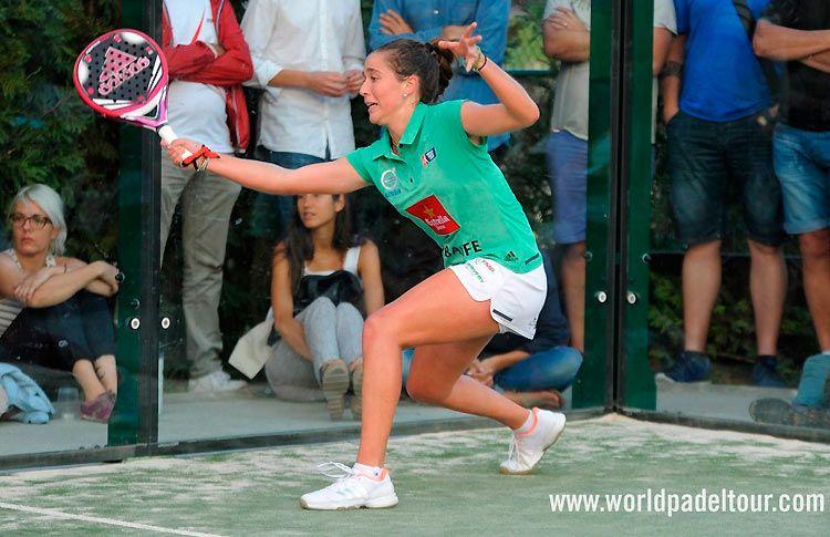 Marta Ortega, en acción en el Estrella Damm Barcelona Máster 2017