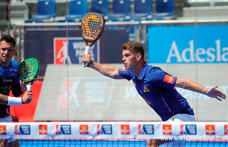 Ramiro Moyano, en acción en el Valladolid Open 2017