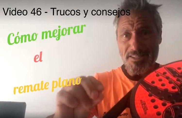 Consejos-trucos de Miguel Sciorilli (46): Cómo mejorar el remate plano