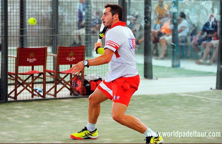Javier Valdés, en acción en la Pre-Previa del Valladolid Open 2017