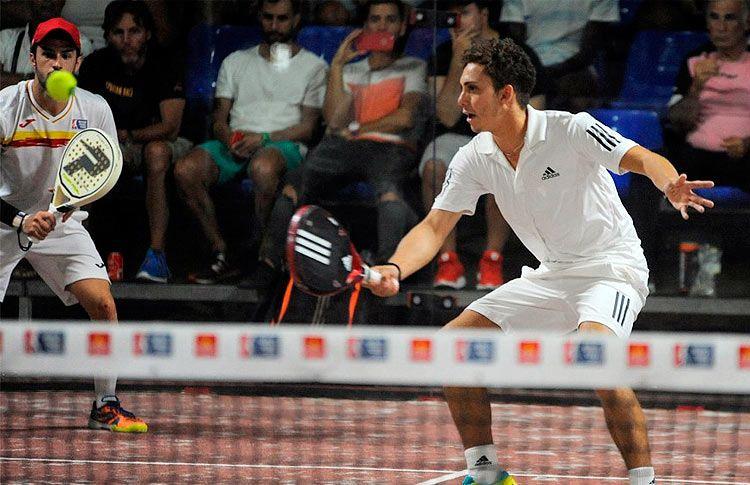 David García Campos-Agustín Gutiérrez, en acción en el Gran Canaria Open 2017