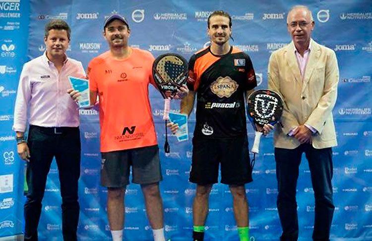 Jordi Muñoz y Fede Quiles, ganadores del Murcia Challenger 2017
