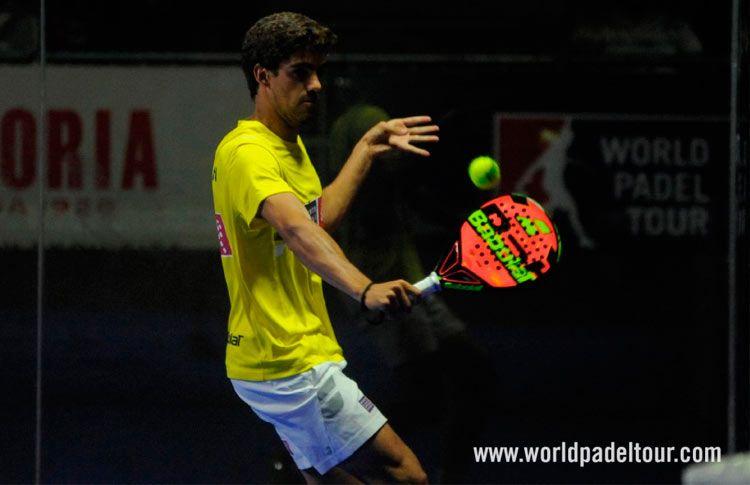 Juan Lebrón, en acción en el Costa del Sol Open 2017