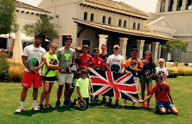 La Selección de Menores de Reino Unido prepara el Mundial de Menores en Sotogrande